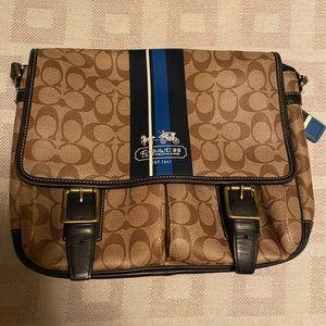 UNISEX Coach Varsity messenger bag